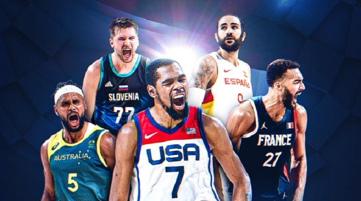 Тотална НБА доминация в Идеалната петица на олимпийския баскетболен турнир