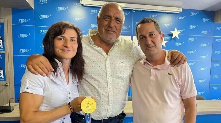 Стойка Кръстева: Искам да благодаря на Бойко Борисов