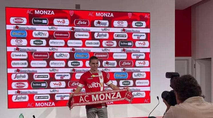 Валентин Антов ще продължи кариерата си в Италия