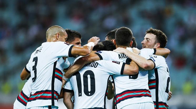 Португалия не срещна никакви затруднения срещу Азербайджан (видео)