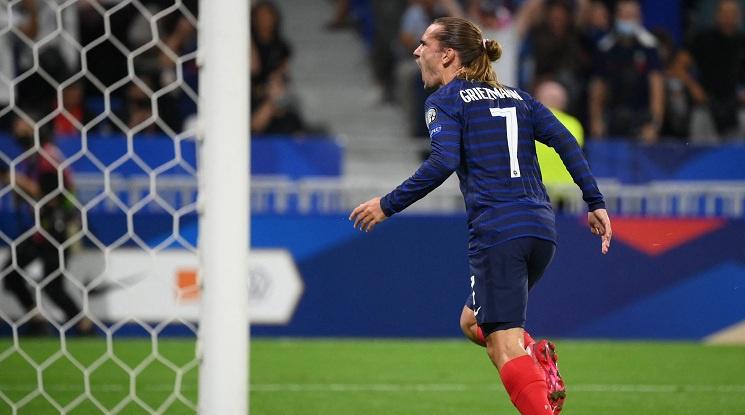 Гризман донесе победата на Франция срещу Финландия (видео)