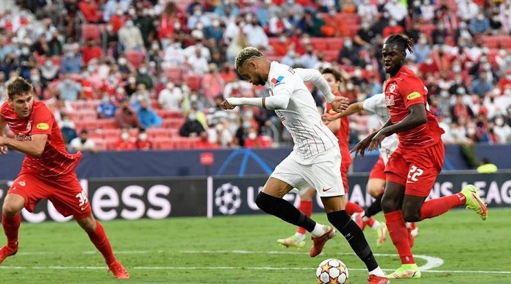 Севиля и Залцбург завършиха 1:1 в мач с четири дузпи