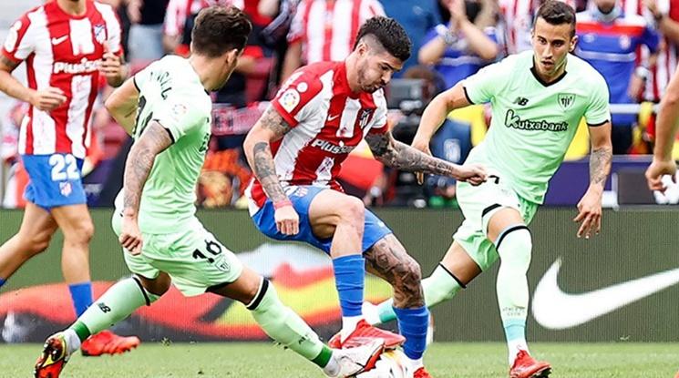 Атлетико Мадрид стъпи накриво срещу Билбао (видео)