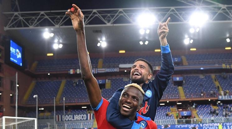 Наполи не спира да тероризира отборите в Серия А