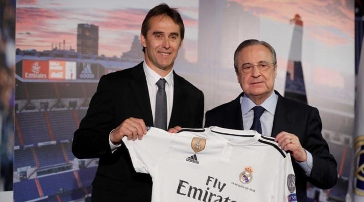 Ще бъде ли уволнен Юлен Лопетеги след серията от слаби резултати на Реал Мадрид?